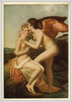 Baci d'amore Psyche und Amor