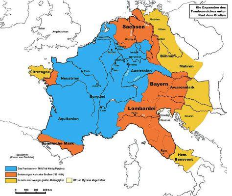 Frankenreich 768-811