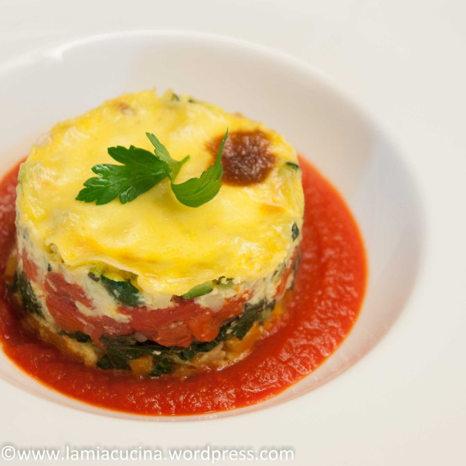 Gemüse Lasagnette