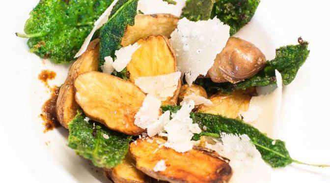 Kartoffeln mit Salbei