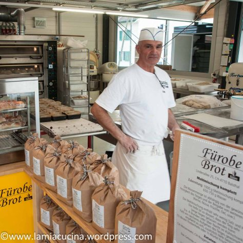 CH-4710 Balsthal: Der Bäcker