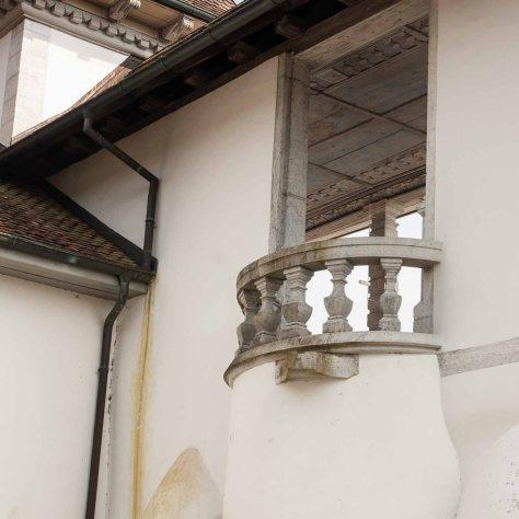 Balkon auf der Galerie