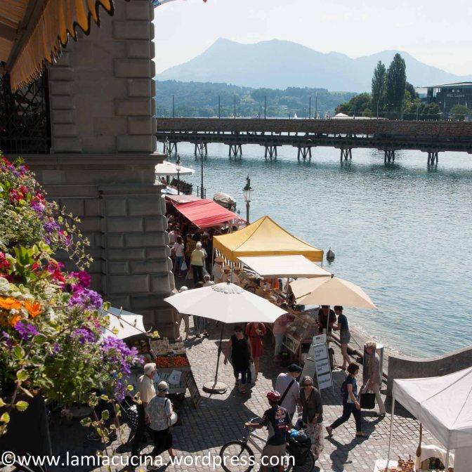 Hors d'oeuvre riche, ein Samstag in Luzern