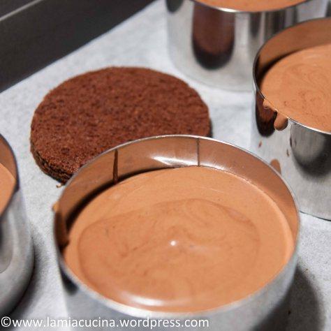 Schokoladetörtchen mit Grand Marnier