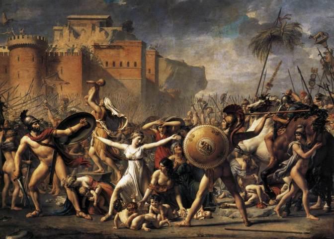Pizzicotti di Contigliano und der Raub der Sabinerinnen