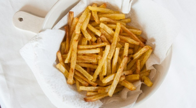 Perfekte Ofen-Pommes Frites