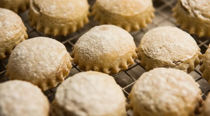 Muselmanische Dattel-Ravioli-Kekse