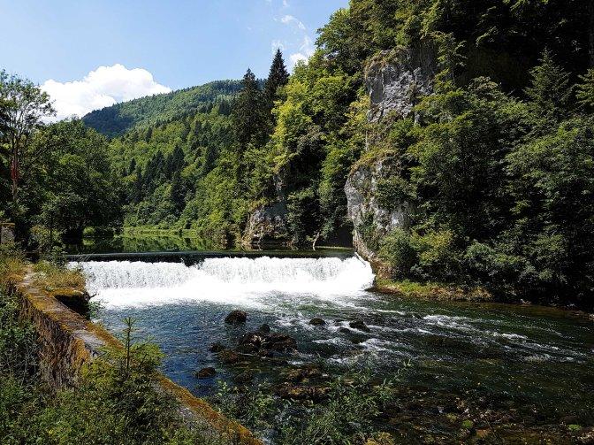 Doubs der Unschlüssige (16) Von La Goule nach Goumois und zurück