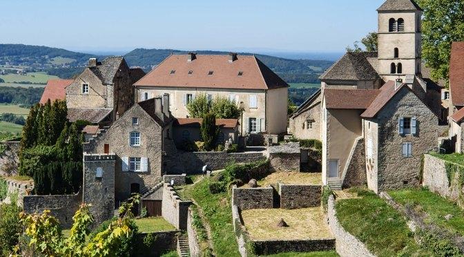 Der Doubs und seine Cousinen (25): Château Chalon