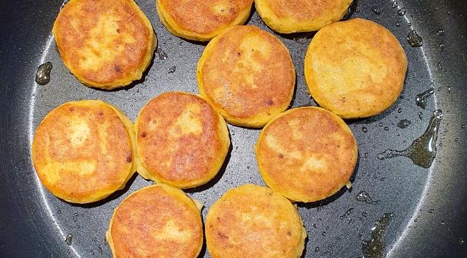 Polpette di patate mit Kampfgewürz