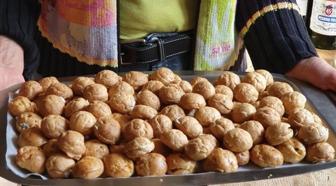 Gougères jurassiennes fürs Dorffest